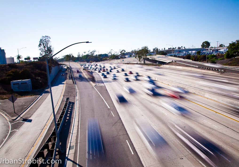 405 Freeway in motion